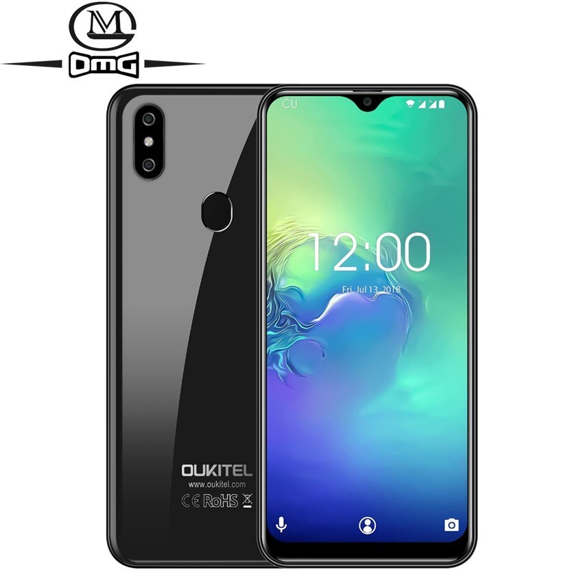 OUKITEL C15 Pro Android 9.0 2.4G/5G WiFi Mobile Phone MT6761 Fingerprint Face ID 4G LTE Smartphone Water Drop Screen cell phones