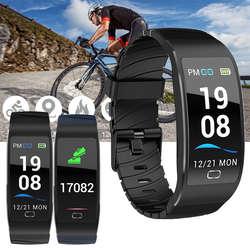 S7 Smart Напульсники сна монитор сердечного ритма IP68 Водонепроницаемый Smart Браслет часы Шагомер