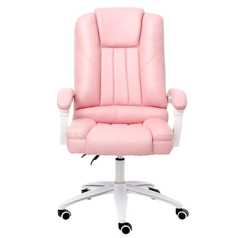 Fotel Biurowy Banquinho Ergonômico Sedia Ufficio Bilgisayar Sandalyesi Silla Gaming Poltrona de Couro Da Cadeira Do Escritório Mobiliário