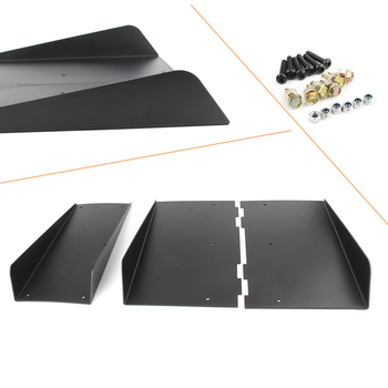 Rear Bumper 4 Fins Diffuser For BMW F10 F30 F32 F36 F80 M3 F82 M4 Accessories 22 x 21 ABS Plastic 557*490mm image