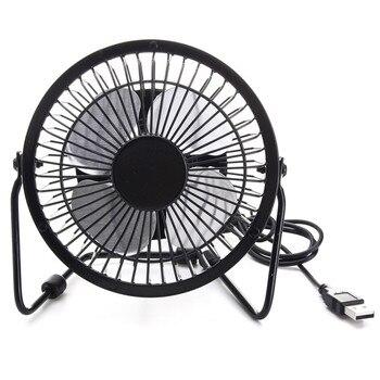 ɫ�品質 4 Â�ンチ冷却換気ファン USB Â�ーラーパネル鉄ファン家庭用オフィス屋外走行釣り