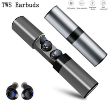 S2 TWS Wireless Bluetooth Earphone Portable Earbuds With MIC Stereo HIFI Music Touch Screen MINI 4.2 Eearbuds