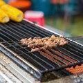 Parrilla de barbacoa tapete para parrilla asador antiadherente herramienta de cocina resistencia a alta temperatura esterilla para pizza tapete para vaporera