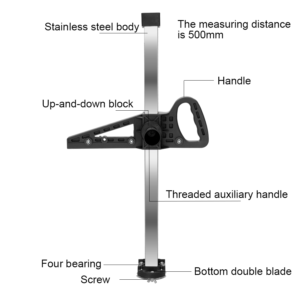 Board Manual Blade Hand Cutting Tool Accuracy Bearings Portable Cutter 4 High And Double Professional Drywall Push With Gypsum