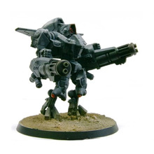 Tau XV9 อันตราย Battlesuit พร้อม Fusion Cascades