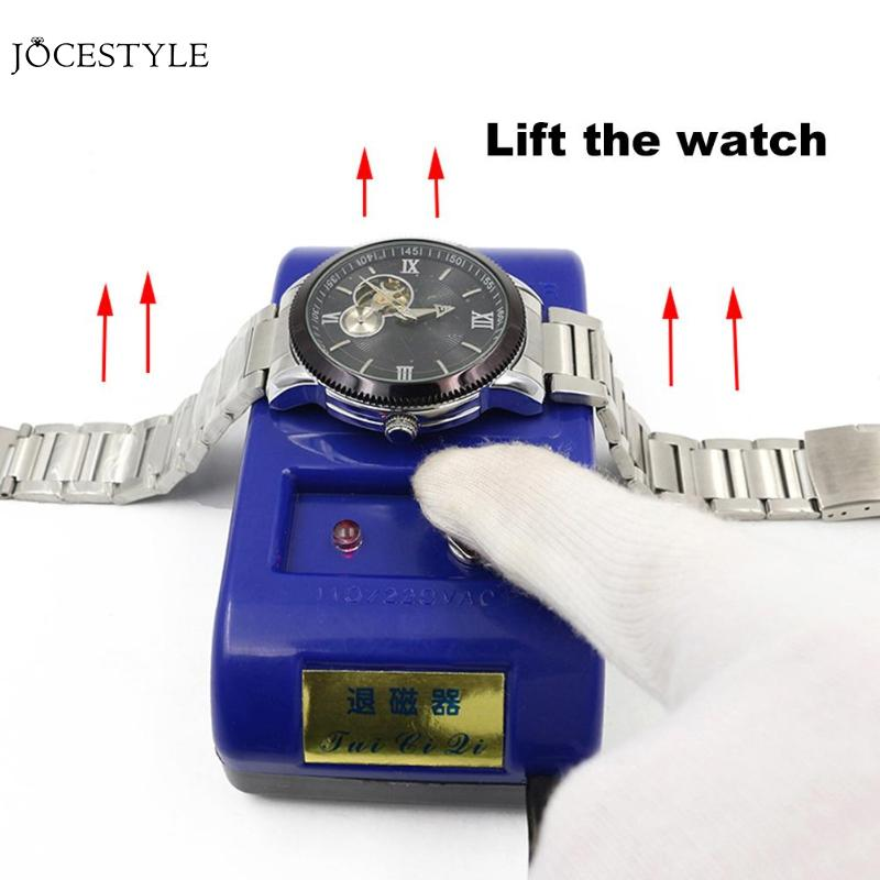 Watch Demagnetizer Mechanical Quartz Watch Repair Tool Electrical Professional Demagnetize Tool worldwide for Watchmaker
