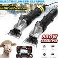 850 W 220 V 3600 RPM Elektrische Schafschur Clipper Schere Schere Cutter Ziege Pferd Clipper Maschine 6 Gears Geschwindigkeit 13 zähne klinge