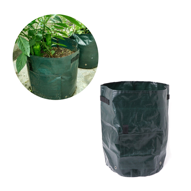 Image 3 - PE Flower Pots Potato Planting Container Vertical Vegetable Garden Pots For Seedlings Grow Seedling Bags Greenhouse For Plants-in Grow Bags from Home & Garden