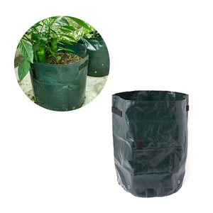 Image 3 - PE Flower Pots Potato Planting Container Vertical Vegetable Garden Pots For Seedlings Grow Seedling Bags Greenhouse For Plants