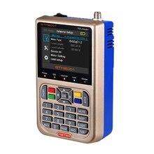 цена на Gtmedia V8 Finder Hd Dvb-S2 Digital Satellite Finder High Definition Sat Finder Dvb S2 Satellite Meter Satfinder 1080P(Eu Plug
