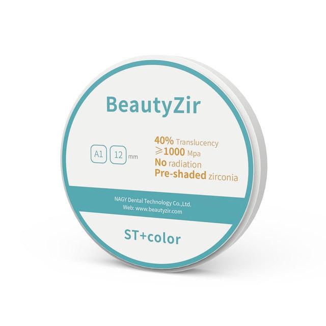 zirconia block preshade A1-D4 98mm*14mm super translucency dental zirconia