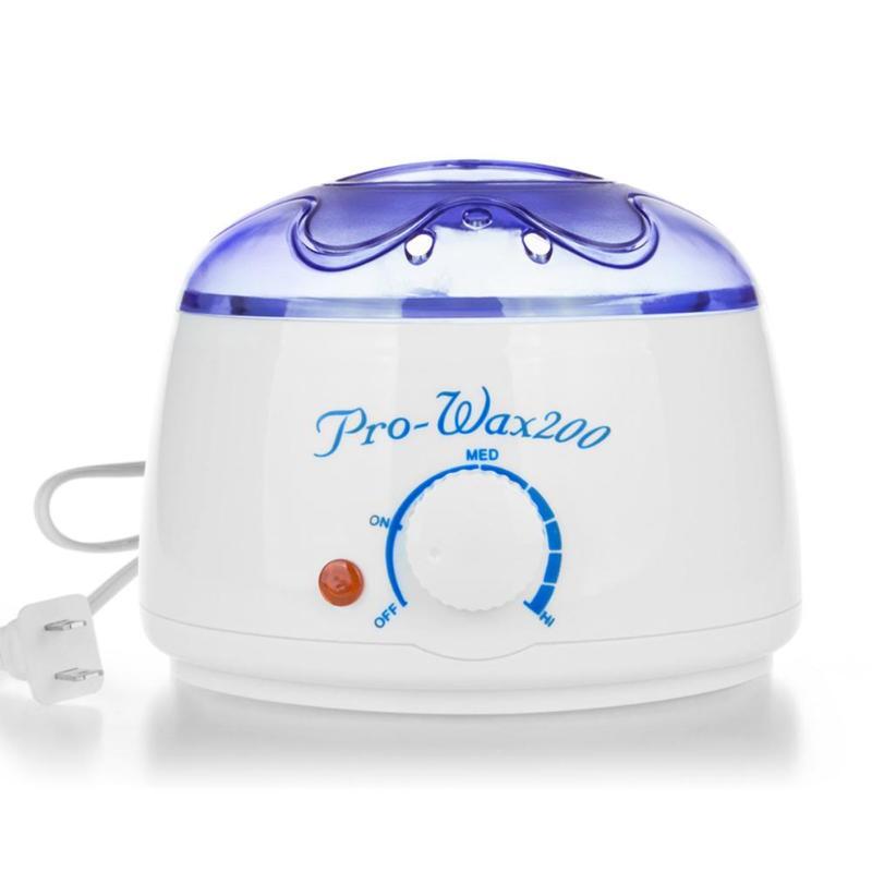 200cc Professional Hand Wax Machine Hot Paraffin Wax Warmer Heater Body Depilatory Salon SPA Hair Removal Tool+100g Wax|Epilators|   - title=