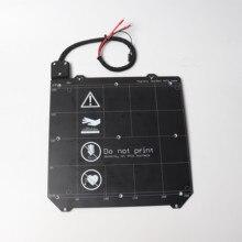 Prusa i3 MK3/MK3S impresora 3d MK52 cama calefactable 24V ensamblada, imanes N35UH, cable de alimentación, termistor, manga textil