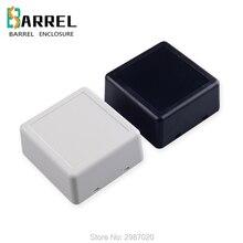 10 pcs/lot 60*58*28mm plastic desktop enclosure small self locking electronic junction box DIY instrument PCB board control box