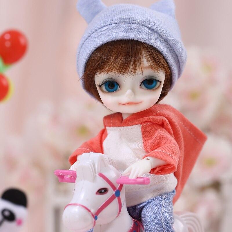 Muñeca con pooky 1/8 BJD SD de alta calidad Linda muñeca de juguete-in Muñecas from Juguetes y pasatiempos    3