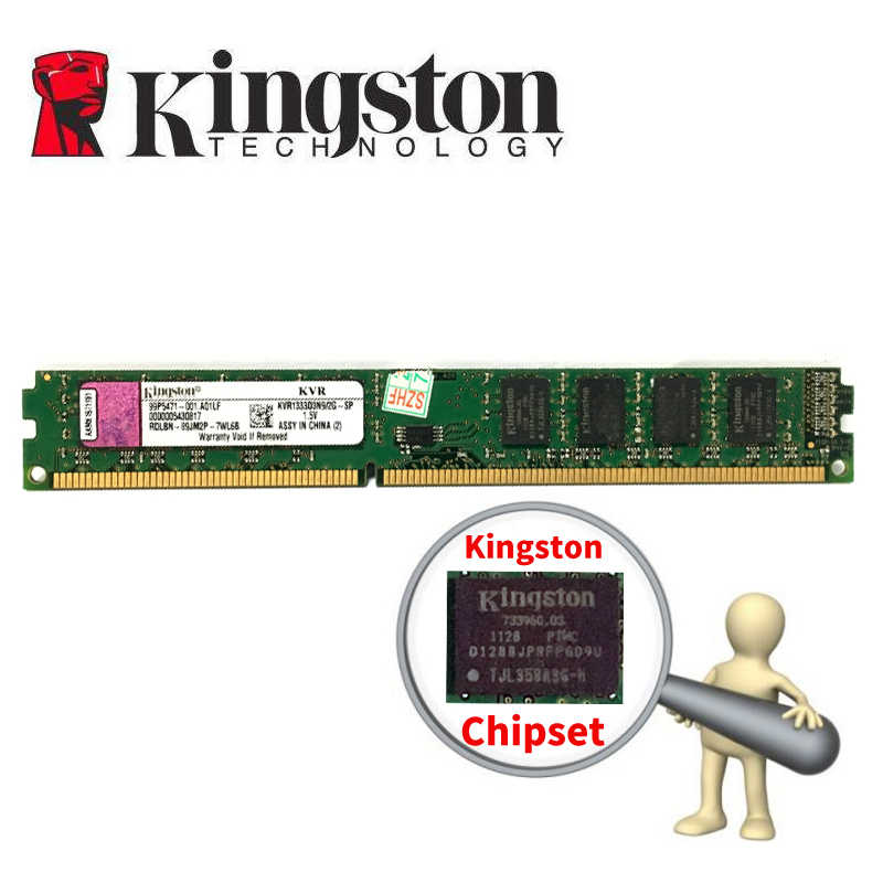 Kingston PC Memory RAM Memoria Module Computer Desktop DDR3 2GB 4GB 8gb PC3 1333 1600 MHZ  1333MHZ 1600MHZ 2G DDR2 800MHZ 4G 8g