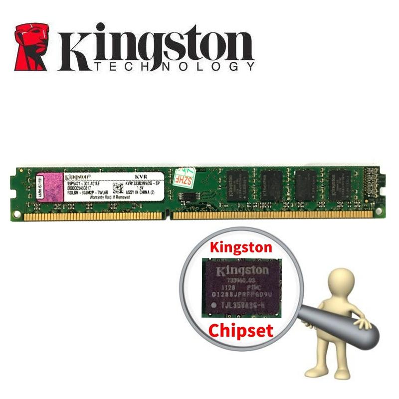 Kingston PC Memoria RAM Memoria para computadora de escritorio de DDR3 2GB 4GB 8gb PC3 1333, 1600 MHZ 1333 1600 MHZ 2G DDR2 800MHZ 4G 8g