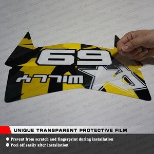 Image 3 - KUNGFU GRAFICA Adesivo Personalizzato Kit Completo Dellinvolucro Del Vinile Della Decalcomania Impermeabile per RC 250 390 RC250 RC390 2017 2018 2019 2020 venom