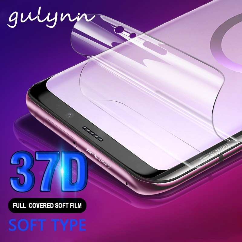 37D Full Soft Hydrogel Film For <font><b>Samsung</b></font> Galaxy <font><b>A</b></font> 10 20 30 40 50 60 70 80 90 2019 Screen Protector For M 10 20 J4 Core Not <font><b>glass</b></font> image