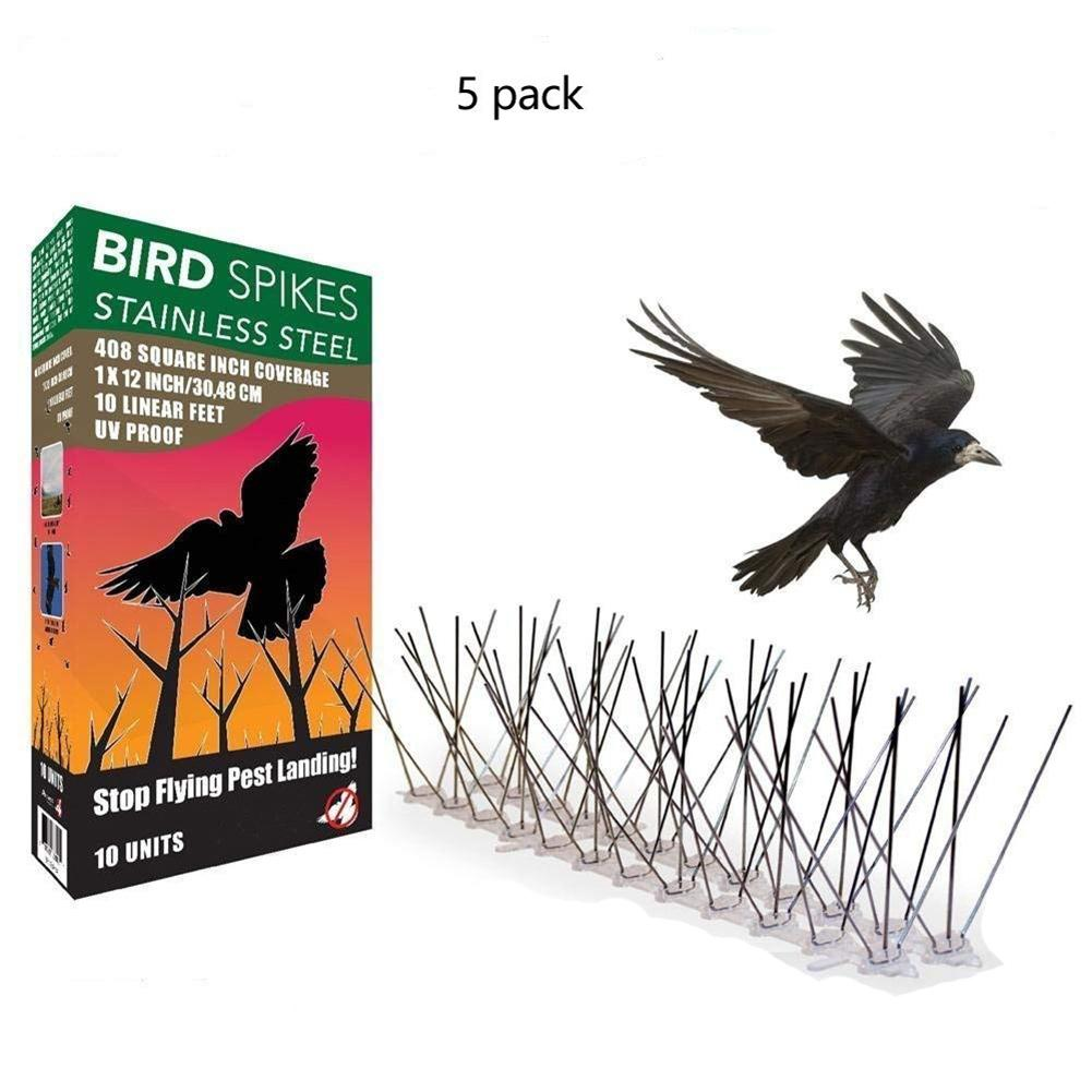50CM Eco Friendly Stainless Steel Bird Spikes For Pigeons