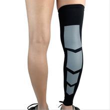 Mounchain, 1 шт., профессиональные спортивные наколенники, сохраняющие тепло, компрессионный рукав, защита ног для наружного баскетбола, футбола, M/L/XL