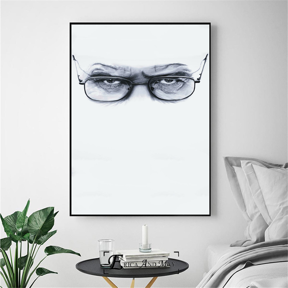 Breaking Bad Movie Figure Posters and Prints Canvas Art Painting Wall Pictures For Living Room Home Decorative No Frame in Painting Calligraphy from Home Garden