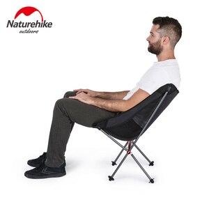 Image 2 - Складной стул Naturehike, ультралегкие пляжные стулья из алюминиевого сплава, уличная портативная мини мебель для кемпинга/пешего туризма/пикника/рыбалки