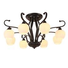 купить Deckenleuchte Lamp For Luminaire De Colgante Moderna Fixtures Lampara Techo Plafondlamp Living Room Led Ceiling Light по цене 6024.97 рублей