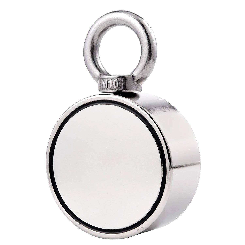 5pcs Super Strong Neodymium Iron Boron Magnetic Hook Round Magnet Holder NIGH