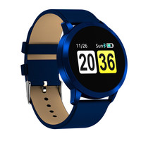 0.95 inch OLED Color Screen Blood Pressure Monitor Heart Rate Smart Watch for Android iOS Sport Band Bracelet Home Health Care