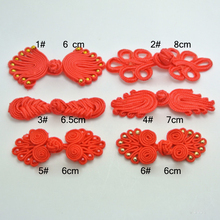 Direct manufacturers chinese knot button frog buckle costume wedding invitation buttons