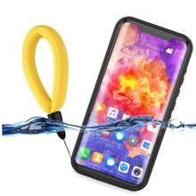 IP68 Waterproof Case For Huawei Mate 20 Pro Case Dustproof Shockproof Cover For Huawei Mate 20 Pro Case with Buoyancy Lanyard tricases factory oem odm pp plastic ip67 waterproof shockproof dustproof case for electronic device