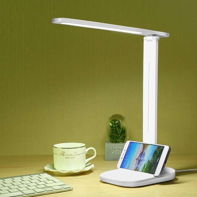 Dimmable LED Table Lamp USB 3 Modes Foldable Desk Lamp Eye Protection For Children Kids Student Study Reading Book Lights