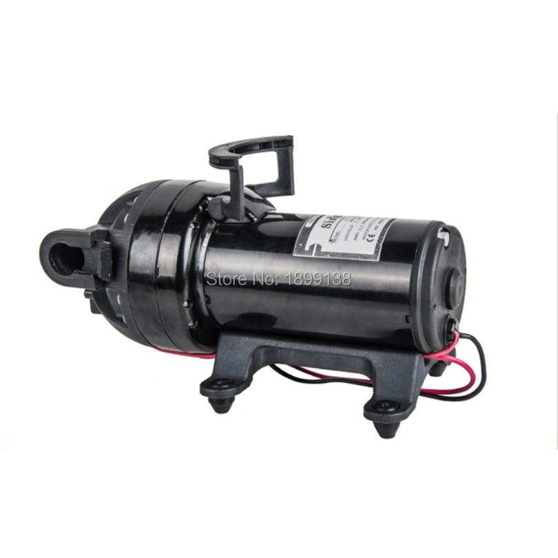 Diaphragm pump high pressure pump 12V 24V DC reciprocating self-priming booster pump booster pump 12v dc boat accessory high pressure diaphragm water self priming pump l70323