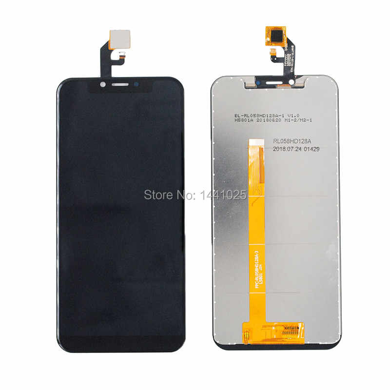 EasePoints for LCD Screen and Digitizer Full Assembly for Leagoo S9 Black Color : Black Repair Part