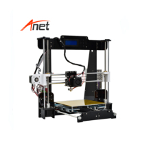 Original Manufacturer Anet A8 3D Printer Auto Leveling Big Print Size 220*220*240MM Desktop Reprap Prusa i3 DIY 3D Printer Kit