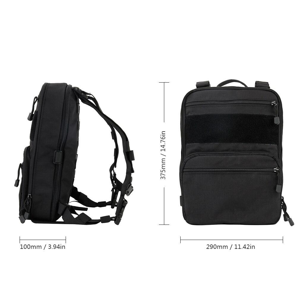 Sac à dos tactique Flatpack D3 poche Molle Airsoft sac d'hydratation militaire sac à dos d'assaut polyvalent sac de voyage - 5