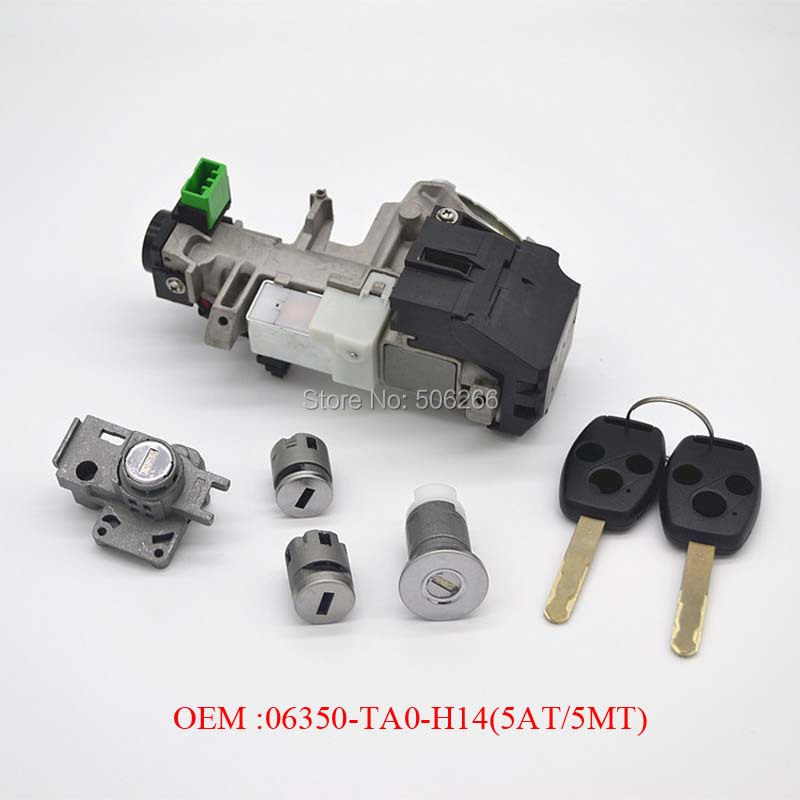 Competitive Price Auto Spare Parts Full car Lock assy Standard OEM 06350-TA0-H14(5AT/5MT) For Honda accord 08-11Model CarsCompetitive Price Auto Spare Parts Full car Lock assy Standard OEM 06350-TA0-H14(5AT/5MT) For Honda accord 08-11Model Cars