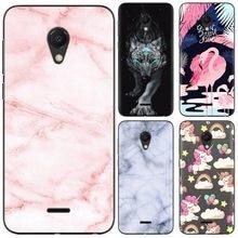 Cute Cartoon Soft Phone Case For Meizu C9 / M9C High Quality Painted TPU Silicone Cover