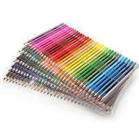 Conjunto de lápices de colores de madera 120/160 para estudiantes pintando lápiz de Color al óleo para dibujo escolar suministros