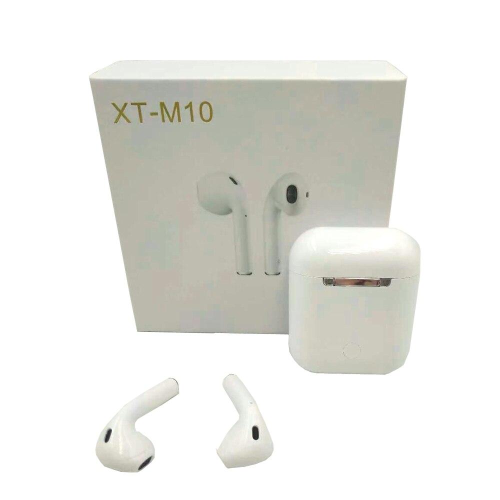 M10 TWS Bluetooth 5.0 écouteurs, oreillettes sans fil Sport Musique Tactile Contrôle Casques mise à niveau par i10 Pour tous les téléphone portable téléphone - 3