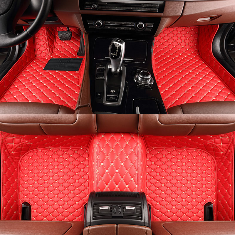Custom fit luxury car mats nest doorbell and thermostat