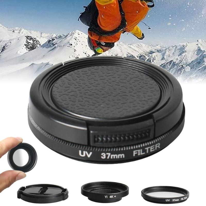 Protective Lens Filter for YI II 4K Action Sports Camera 37 mm eecoo UV Protection Lens Filter