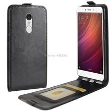 phone bag for Xiaomi redmi note 4 case redmi note 4 Case Cover Luxury Leather Vertical