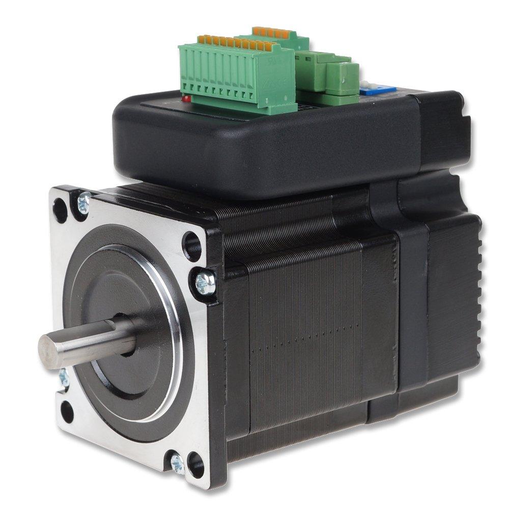 Nema 23 Stepper kits DC36V 1Nm 57mm Integrate Hybrid Closed Loop Stepper Motor + Driver Kit Position Encoder for CNC Printing