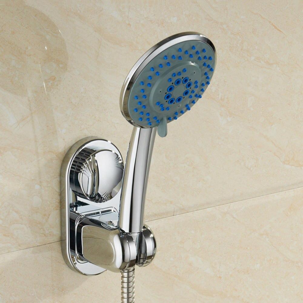 1 Pc Splitter Einstellbar Bad Dusche Kopf Halter Wand Halterung Saugnapf Für Bad Zubehör Handheld Halter äSthetisches Aussehen