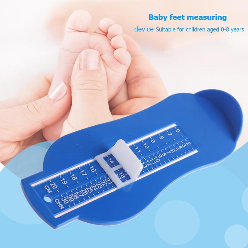 Baby Kind Fuß Messen Requisiten Einstellbar Säuglings Füße Messen Manometer Kid Schuhe Größe Mess Lineal Werkzeug Kleinkind Schuhe Armaturen Wohltuend FüR Das Sperma