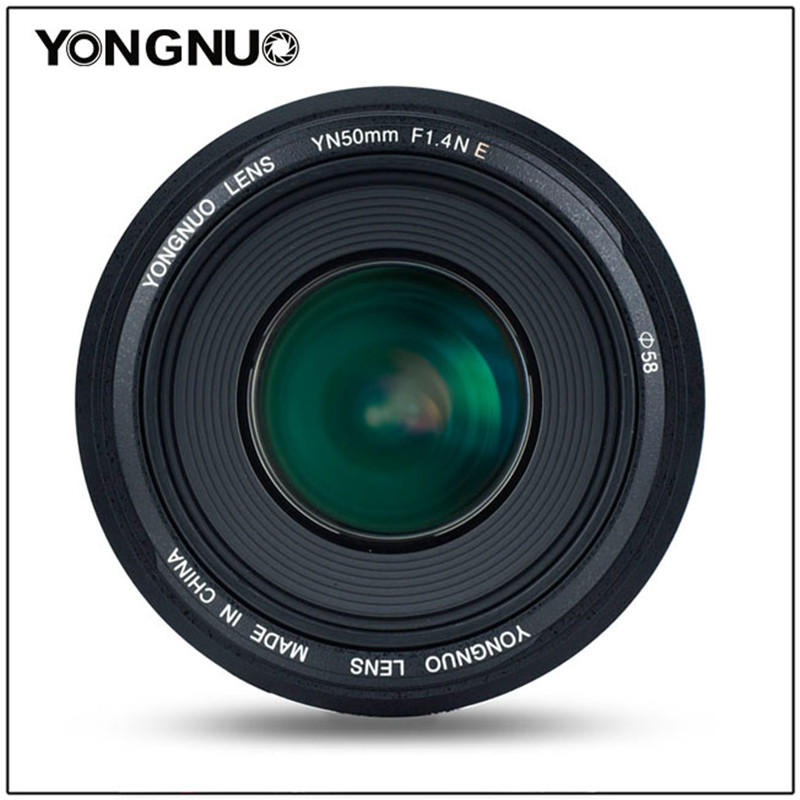 Image 2 - YONGNUO YN50mm F1.4N E Standard Prime Lens 50mm F1.4 Large Aperture For Nikon D5 D4 D3 D810 D800 D750 D300 D7100 D7000 D5600 etcCamera Lens   -