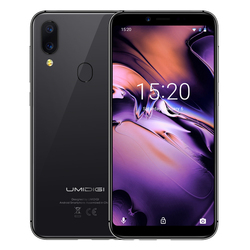Global UMIDIGI A3 4G LTE Phablet 5.5'' 2.5D Curved 18:9 Screen Android 8.1 MTK6739 Quad Core 3 Card Slots 2GB+16GB Mobile Phone