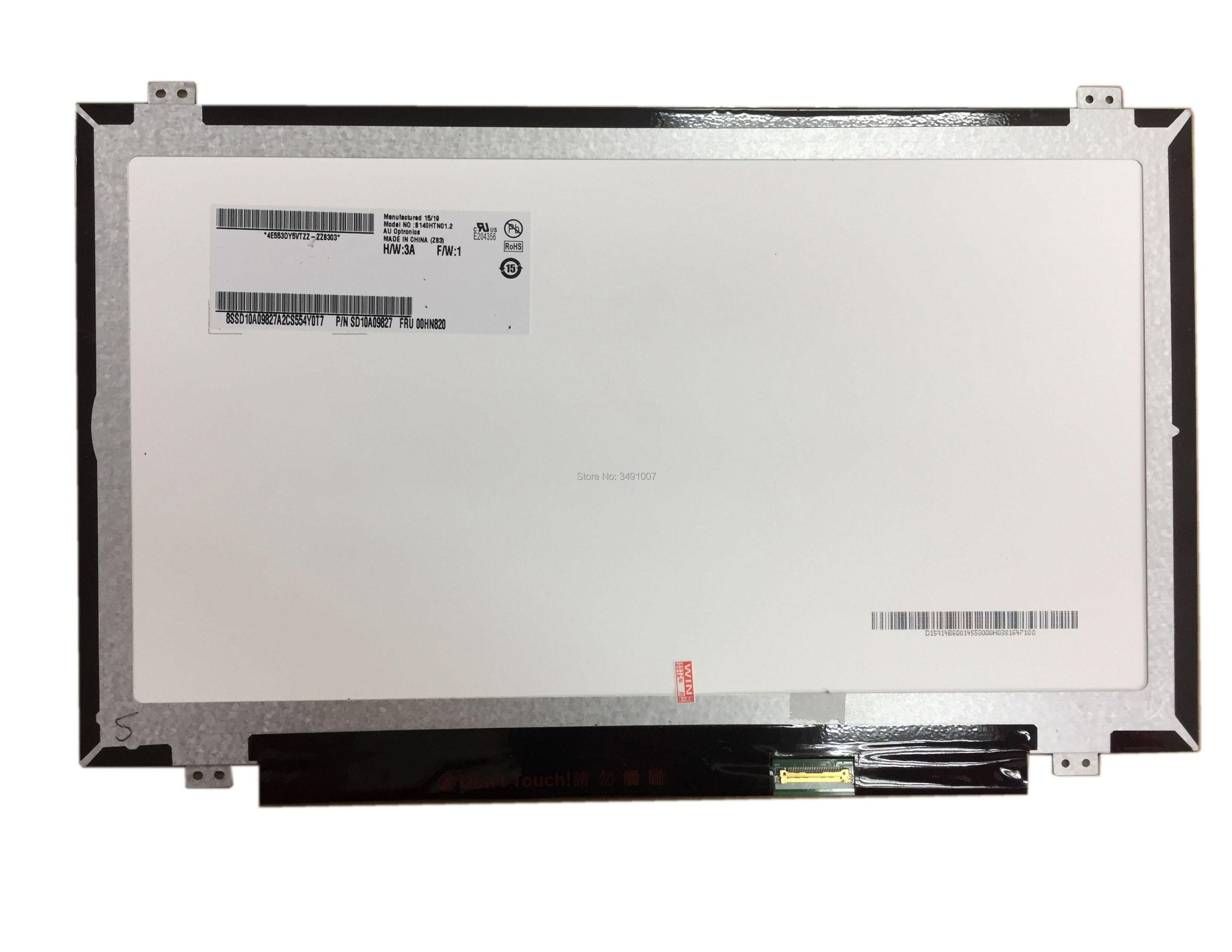 B140HTN01.2 フィット N140HGE EA1 EB1 EAA EBA B140HTN01.1 B140HTN01 。 E B140HTN01 。 C B140HTN01 。 B 1920*1080 30PIN EDP  グループ上の パソコン & オフィス からの ノートパソコンの液晶画面 の中 1